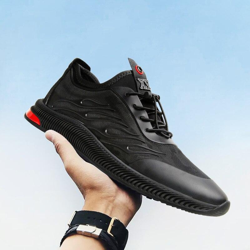 Chaussures pour hommes été nouveau Joker respirant chaussures en maille chaussures décontractées coréennes hommes