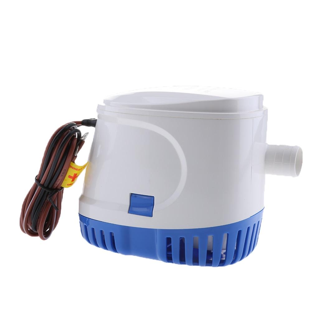 Pompe à eau Submersible automatique de cale de Yacht de 24V 600GPH automatique avec le commutateur de flotteur - 5