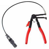 Ferramentas do veículo automático tipo de cabo flexível fio longo alcance braçadeira de mangueira alicate para reparos de carro braçadeira de mangueira remoção ferramentas manuais