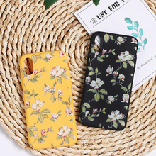 Retro Flower Leaves Cases Cover For iPhone 11 Pro Max X XR Xs Max Cases For iPhone 6 6s 7 8 Plus Soft Silicone IMD Back Cover cheap UPLE Fitted Case Apple iPhones IPHONE XR IPHONE 8 PLUS iPhone 6 Plus iPhone 7 Plus iPhone11 iPhone 6s plus IPHONE XS MAX