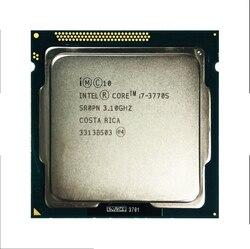Б/у оригинальный CoreInte i7-3770 3770s 2600 2600s 3770k 2500k 2550k четырехъядерный процессор Восьмиядерный процессор 95W LGA 3570