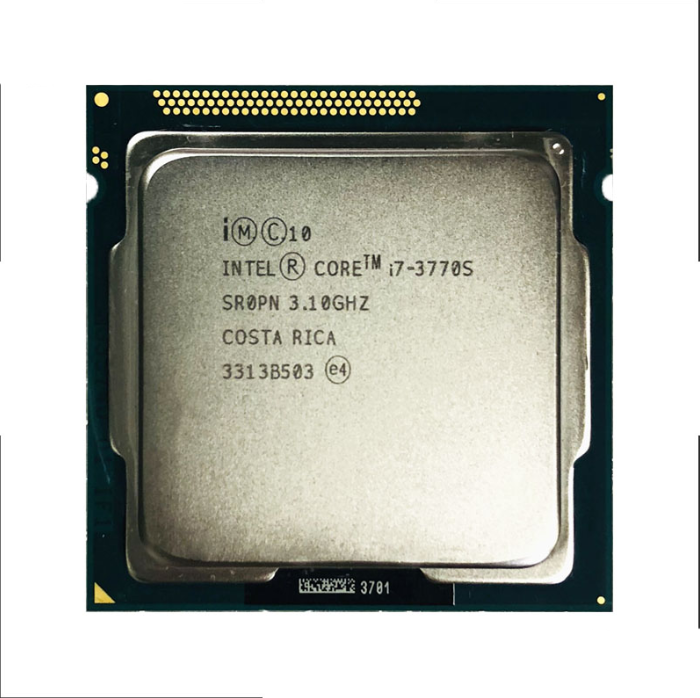 Intel CoreInte I7-3770 3770s 2600 2600s 3770k 2500k 2550k 3570k CPU Quad Core Eight Core 95W CPU Processor LGA 1155 For Desktop