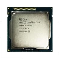 Used Original CoreInte i7-3770 3770s 2600 2600s 3770k 2500k 2550k 3570k CPU Quad Core Eight Core 95W Processor LGA 1155