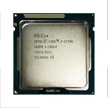 Used Original CoreInte i7-3770 3770s 2600 2600s 3770k 2500k 2550k 3570k CPU Quad Core Eight Core 95W Processor LGA 1155 цена 2017