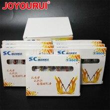 10 pces SC-PRO soco coxo instrumentos rotativos dentais arquivos endodontic rotativos endo arquivos de memória niti motor usesuper raiz canal caixa