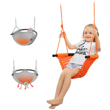 Children Swing Seat Heavy Duty Rope Children Swing Set with Snap Hooks and Swing Straps Suit for 2 to 12 Years Indoor Outdoor cheap Plastic C1276777
