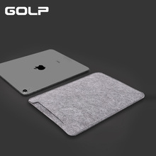 купить 10.5 inch Sleeve Bag Case for iPad Pro 10.5 2019 Bag, GOLP Universal Felt Sleeve Tablet Pouch bag for ipad Air 3 2019 case дешево