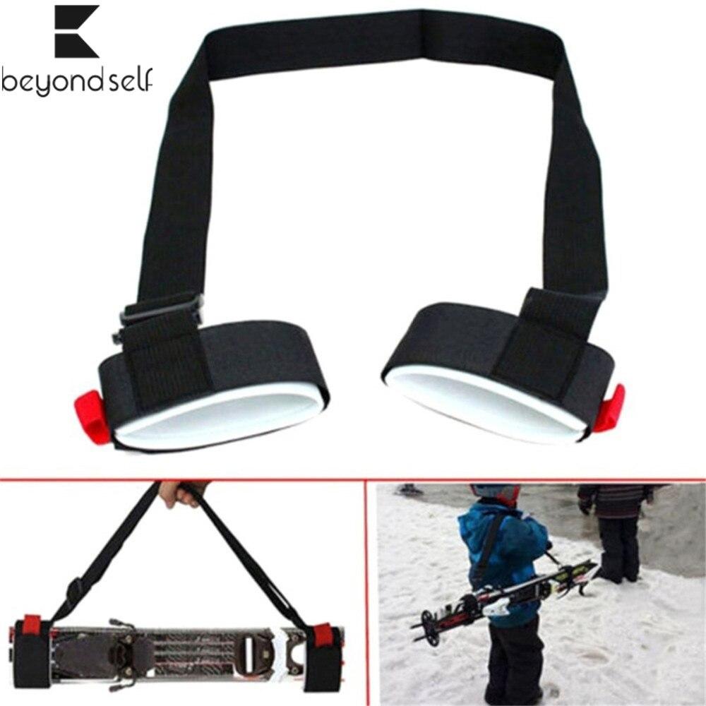 1.2M Adjustable Buckle Hand Ski Nylon Fixed Strap Handle Strap Bag Shoulder Hand Carrier Black Hook Loop Protecting 530970