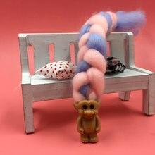 綿菓子編組髪の人形ブラインドボックス理髪人形ブラインドボックス手作り子供かわいいおもちゃ誕生日ギフト