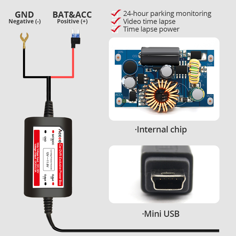 para monitor estacionamento camera traco carregamento automatico 03