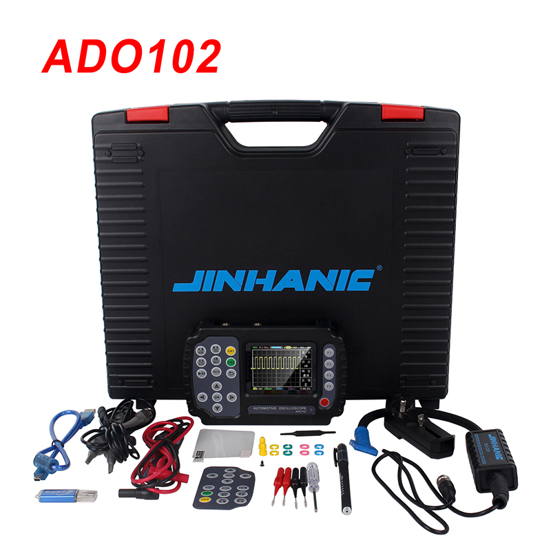 <font><b>10MHz</b></font> Multimeter Automotive <font><b>Oscilloscope</b></font> 2 Channels 100MSa/s Portable Digital <font><b>Oscilloscope</b></font> Mini <font><b>Oscilloscope</b></font> USB Data Storage image