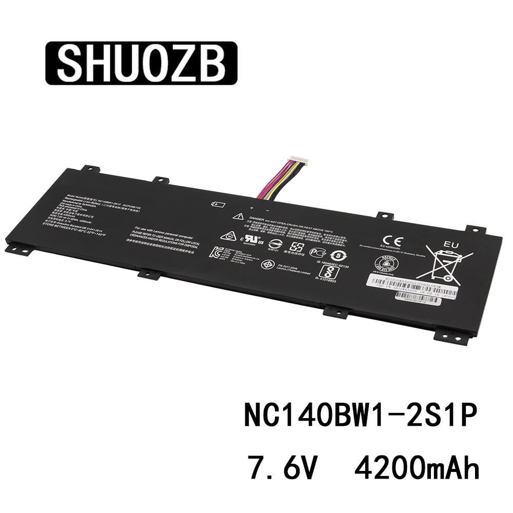 New NC140BW1-2S1P Laptop Battery For Lenovo IdeaPad 2ICP4/58/145 100S-14IBR 0813002 5B10K65026 7.6V 31.92Wh 4200mAh SHUOZB