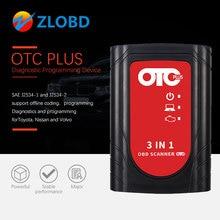 OTC Plus herramientas de diagnóstico 3 en 1, escáner otc para Nissan /Tyota/Volvo Life, escáner OBD GTS con HDD