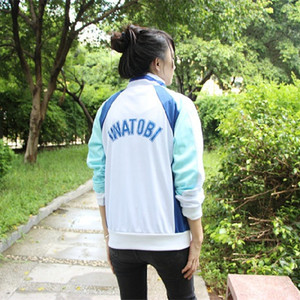 Image 4 - אנימה חינם! Iwatobi מועדון השחייה Haruka Nanase Cosplay תלבושות מעיל יוניסקס הסווטשרט תיכון ספורט ללבוש עבור גברים נשים יוניסקס