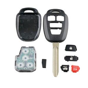 Image 5 - Yetaha 4 Buttons Remote Smart Key For Toyota Rav4 Highlander 2014 2015 2016 GQ4 52T 315MHz Remtekey With Chip/Battery