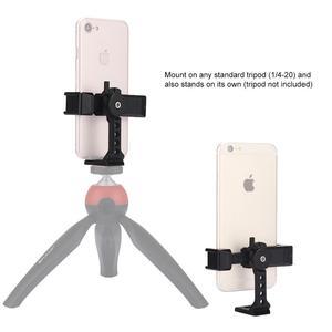 Image 5 - PULUZ תמונה סטודיו אביזרי 360 תואר מסתובב צילום טלפון מתכת מהדק מחזיק סוגר, עבור iPhone, Xiaomi, טלפונים חכמים