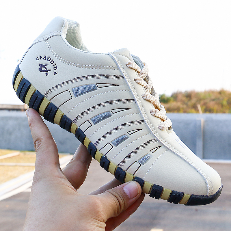 2020 New Women Shoes Striped Shallow Lace Up Soft Women Casual Shoes Sports Shoes Woman Shoes Trainers Walking Women Sneaker