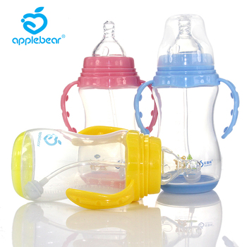 Feeding Bottle Foreign Trade Widemouthed Special-purpose Feeding Bottle Defence Flatulence Pp Feeding Bottle 320ml платье foreign trade 2014