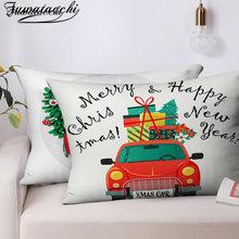 Декоративная наволочка для подушки fuwatacchi Рождественская
