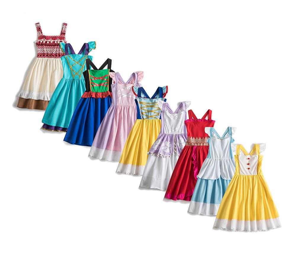 princess dress costume elsa dress fairy dress mermaid dress cinderella dress christmas kids dresses for girls jasmine costume