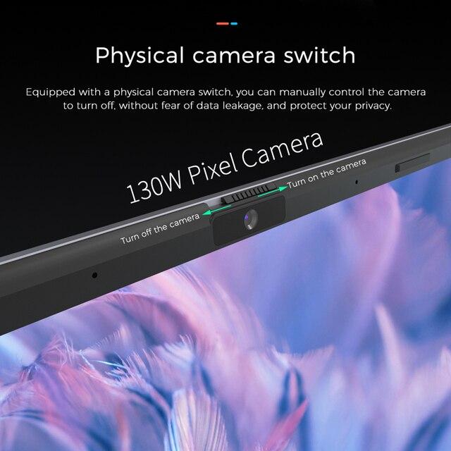 KUU K2S For Intel Celeron J4115 14.1-inch IPS Screen All Metal Shell Office Notebook 8GB RAM 256GB/512GB SSD with type C laptop 5