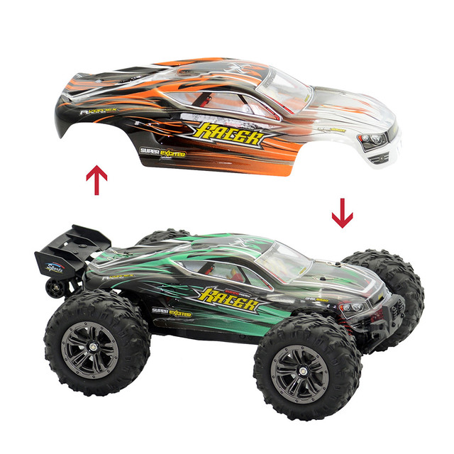 1:16 52Km/h 4WD RC Remote Control Off Road Racing Cars Vehicle 2.4Ghz Brushless Electric RC Car with Extra Car Cover#S3 4