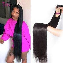 Tissage en lot brésilien naturel Remy lisse-Tinashe Hair | 30 32 34 36 38 40 pouces, Extensions de cheveux