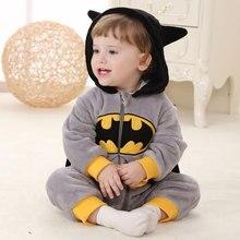 زي باتمان كيجوروميس بيبي أنيمي بطل السوبر تأثيري زي الطفل بيجامة نيسيي الكرتون الخفافيش رجل النوم دعوى صبي فتاة اللعب الزي يتوهم