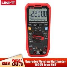 Multímetro digital profesional UNI-T ut61e + verdadeiro rms multimetro ac/dc tensão atual resistência capacitância tester quente
