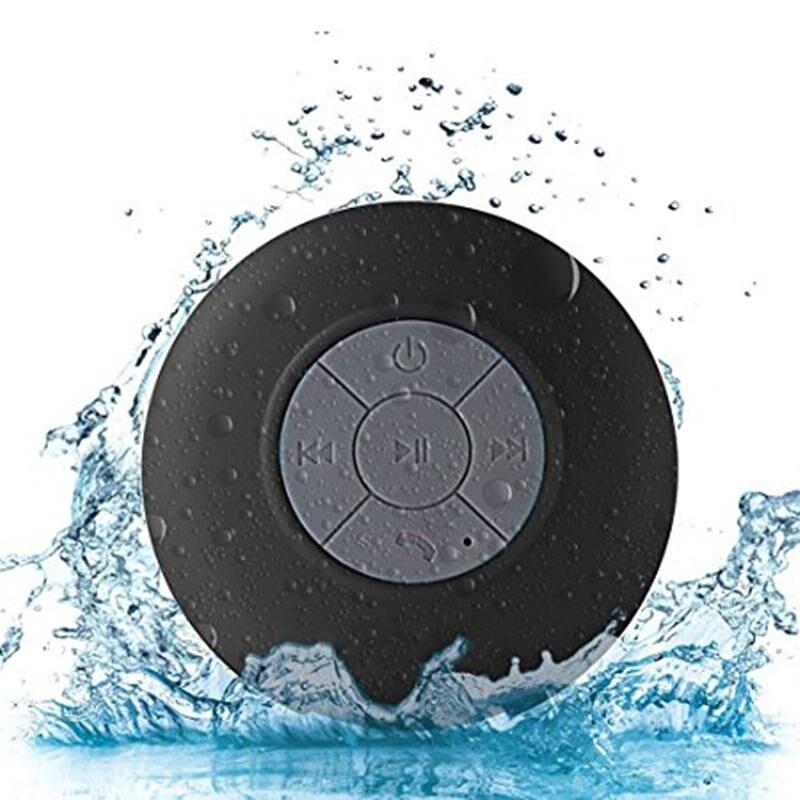 Mini Bluetooth Speaker Draagbare Waterdichte Draadloze Handsfree Luidsprekers, Voor Douches, Badkamer, Zwembad, Auto, strand & Outdor 2