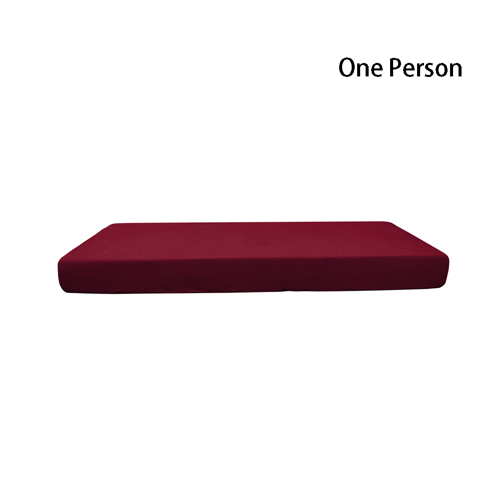 1-4 Seats Replacement Stains Protector Waterproof Couch Dustproof Home Sofa Cushion Cover Slipcovers Decorative Hair Stretchy image