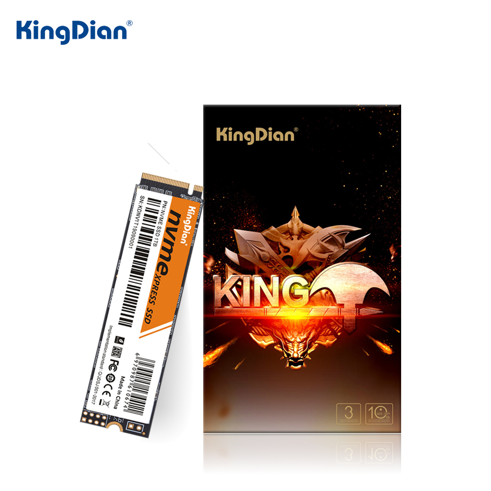KingDian SSD M2 1tb NVME SSD 512gb M.2 SSD 128gb 256gb Hard Drive Disk M.2 2280 PCIe SSD Internal Solid State Drives For Laptop