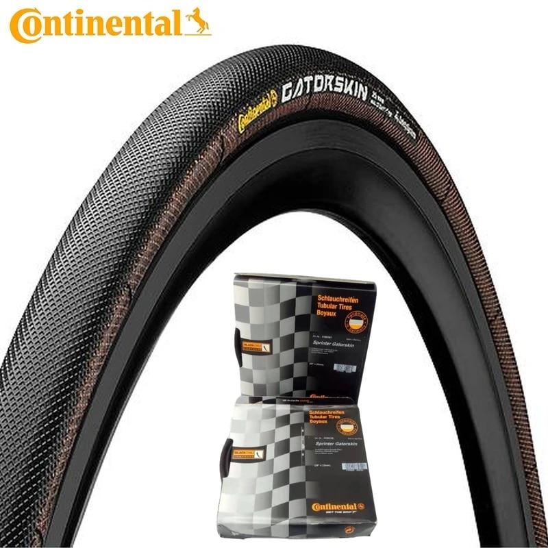 700 x 25 Tubulaire Noir repliable 180tpi Gatorskin Continental Sprinter Pneu