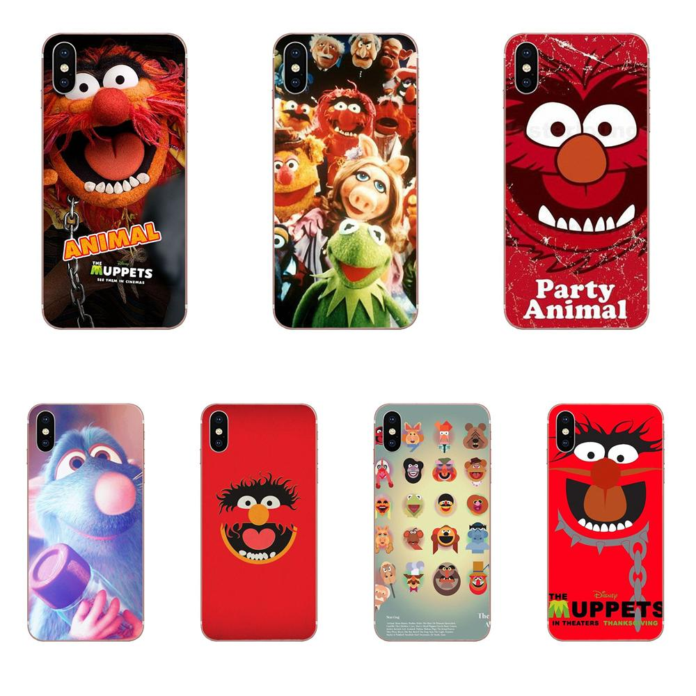 The Muppet Show Party Animal Black For <font><b>Huawei</b></font> Honor Mate <font><b>Nova</b></font> Note 20 20s 30 5 5I <font><b>5T</b></font> 6 7I 7C 8A 8X 9X 10 Pro Lite Play image