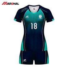 Женская и Мужская Волейбольная форма, спортивный костюм, женский, можно изготовить на заказ, сублимационная дышащая одежда для волейбола, волейбольная майка