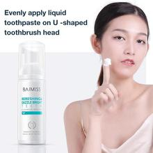 60ml Teeth Whitening Mousse Tools Shining Tooth-cleaning Toothpaste Oral Hygiene Removes Plaque Stains Bad Breath Dental Tool