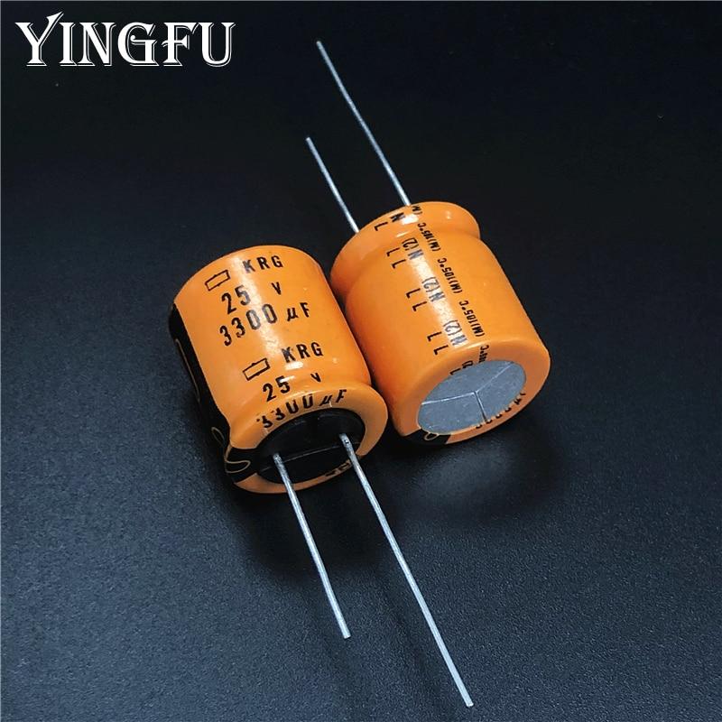 Radial US Seller 2 pcs Capacitor Nippon 1500uF 35v 105C 18x20mm