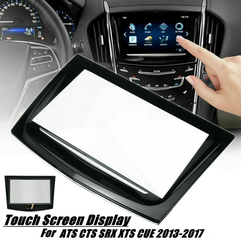 New Press Screen Display for 2013-17 Cadillac ATS CTS SRX XTS CUE Replacement TouchScreen 22935061