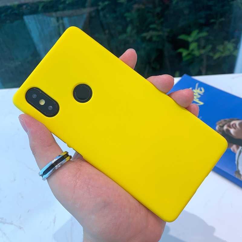 Funda de teléfono PC de plástico duro mate de Color para Xiaomi mi 8 9 SE A1 A2 Lite Red mi Note 5 6 Plus 6A 7 Pro ir teléfono móvil F1 Coque