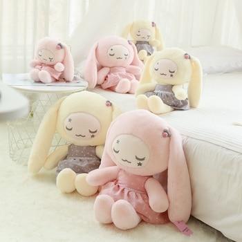 33cm-65cm Sweet Dream Rabbit Plush Toy Soft Cartoon Animal Stuffed Dressed Bunny Doll Baby Comfort Toys Children Birthday Gifts