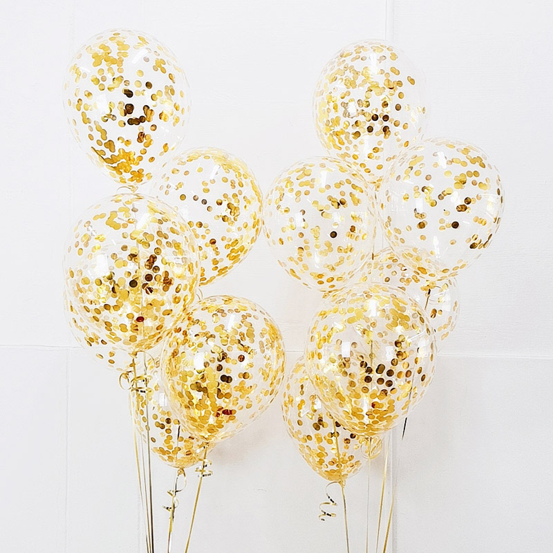 12 дюймов золотые конфетти шары на день рождения Сделай Сам латексные шары, гелий, воздушный шар для свадебной вечеринки, дня рождения, вечер...