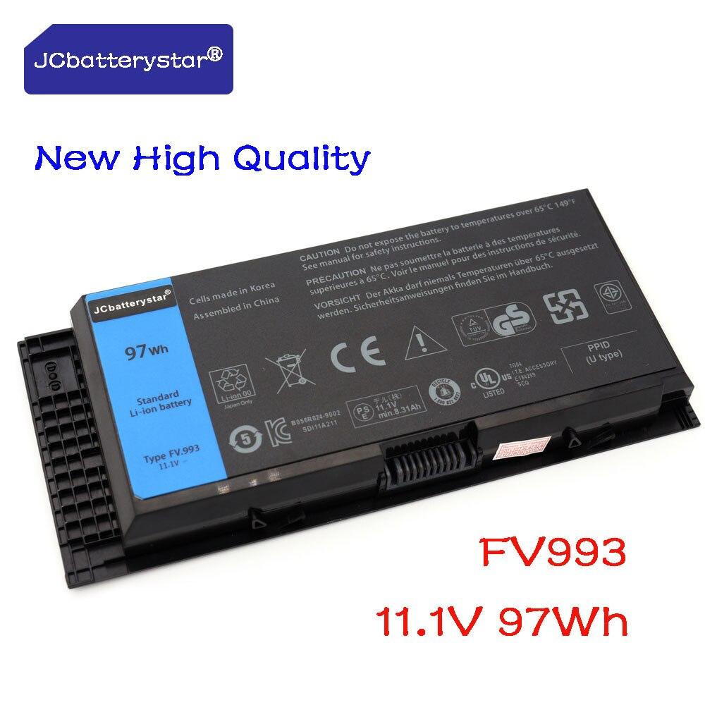 JC Новый высокое качество FV993 ноутбук Батарея для DELL Precision M6600 M6700 M6800 M4800 M4600 M4700 FJJ4W PG6RC R7PND OTN1K5 97WH