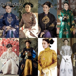 2020 chinois traditionnel danse costumes femme qing dynastie performance robe ancienne fée hanfu histoire de Yanxi palais cosplay