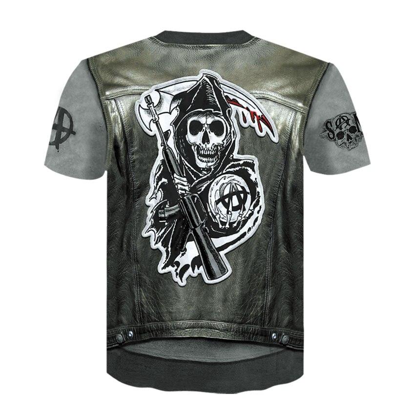 AE173-T恤短袖模版-后