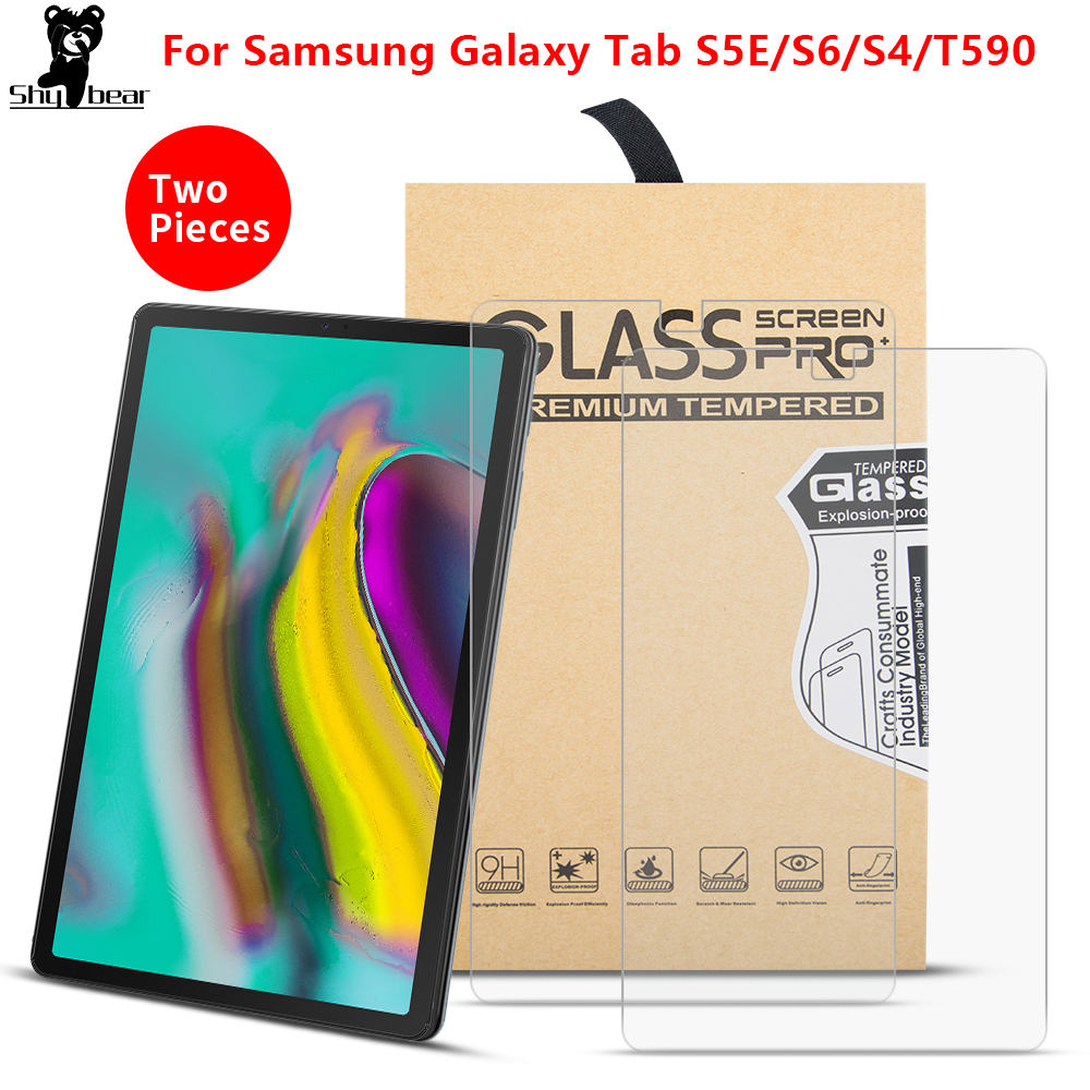Tempered Glass For Samsung Galaxy Tab S6 10.5 2019 T860 T865 S5E T720 Tablet Screen Protector Film For S4 T835 Tab A 10.5 T590
