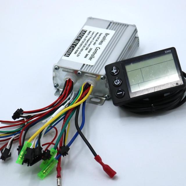 Motor Controller 36V//48V 17A mit Hallsensoranschluss NEU