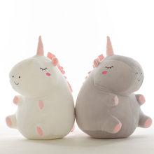 55cm sevimli unicorn peluş bebek oyuncak dolması & peluş hayvan bebek oyuncakları bebek eşlik uyku çocuklar için hediyeler WJ497