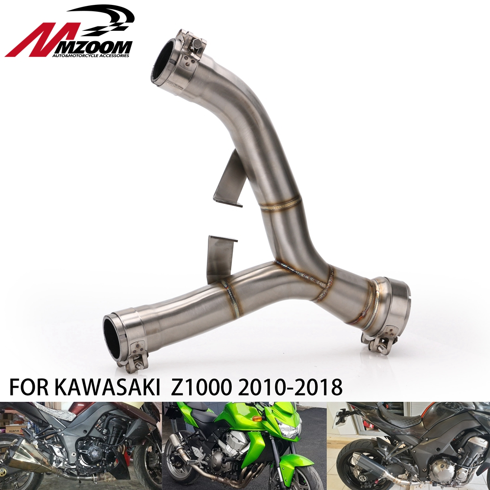 Modified-Pipe-Tube Motorcycle Exhaust Kawasaki Z1000 Ninja for Mid-Link Connect 12 11