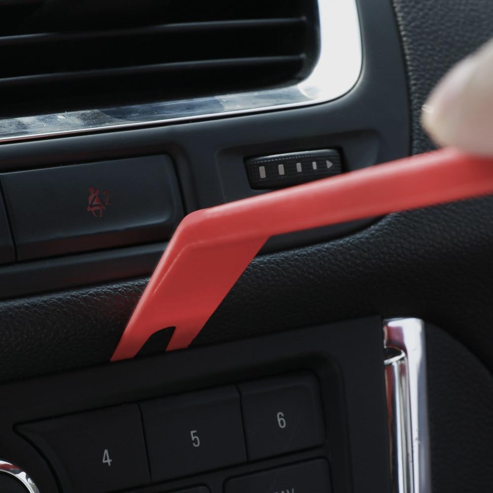 Купить с кэшбэком WORKPRO Car Repair Tool Set Auto Upholstery Removal Kits Car Interior Radio Panel Door Clip Windows Trim Removal Installer Pry