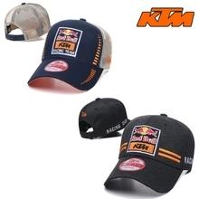 Red Bull Racing Motorcycle Hat Snapback Mx Motocross Cap